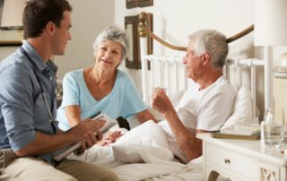 Long Term Care Insurance being used in patient's home