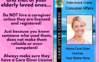 unlicensed caregivers are a danger