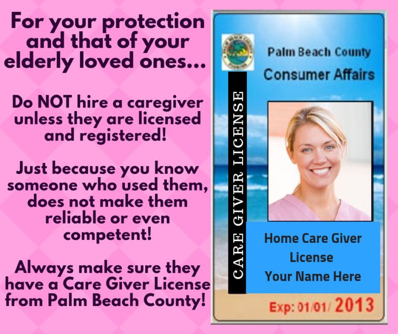 unlicensed caregivers are a danger