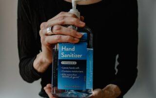 hand sanitizer maintaining wellness during the coronavirus