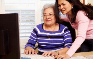 elder dementia patient