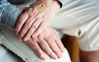 elder hands