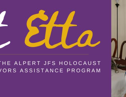 A Holocaust Survivor's Story – Meet Etta